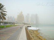 corniche-dust-Qatar