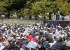 Christchurch holds public call to prayer at site of mosque attack