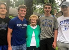 Four teens rush into a burning home, saving the life of a 90-year-old neighbor